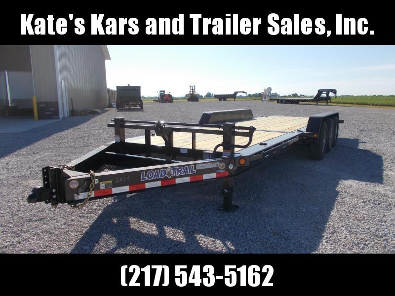 2019 Load Trail 83X24 Triple Axle Tilt Trailer Equipment Trailer