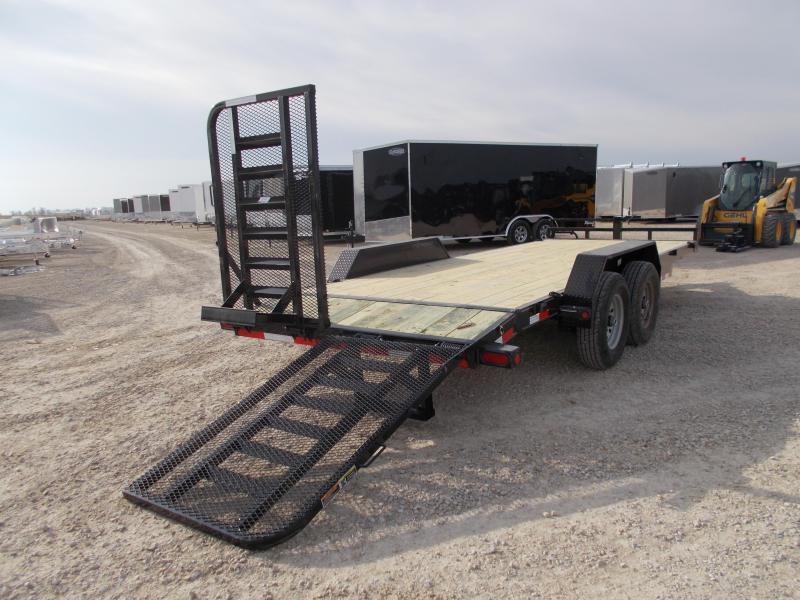 NEW Load Trail 83x20' Equipment Trailer 14K LB