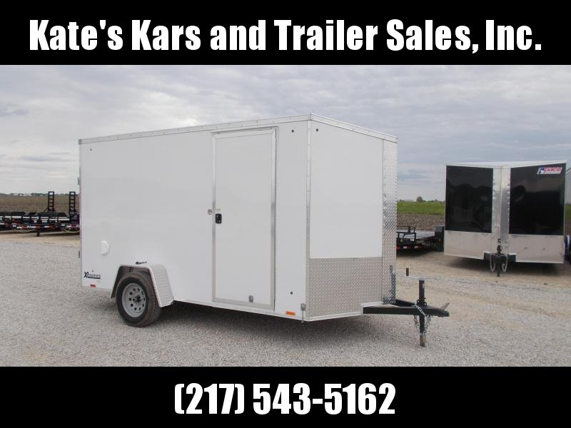 2020 Cargo Express 6X12 Extra Tall Screwless Sides Enclosed Cargo Trailer