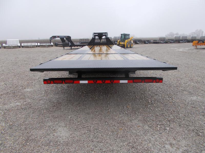 *NEW!! Load Trail 36' Hydraulic Dovetail Gooseneck Flatbed Trailer Hydro Jacks