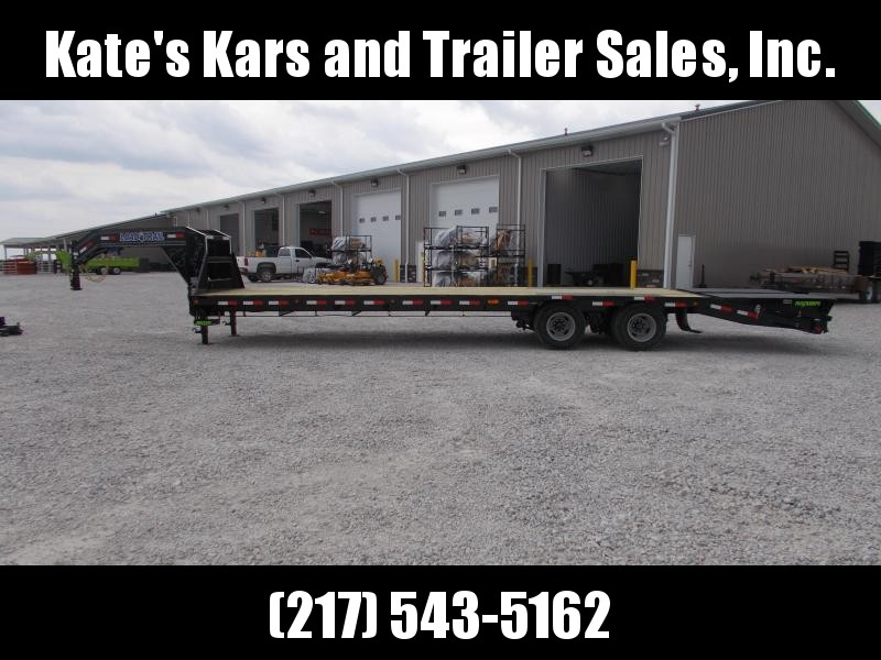 *NEW* Load Trail MAX RAMPS 24K Gooseneck 102X32' Flatbed Trailer