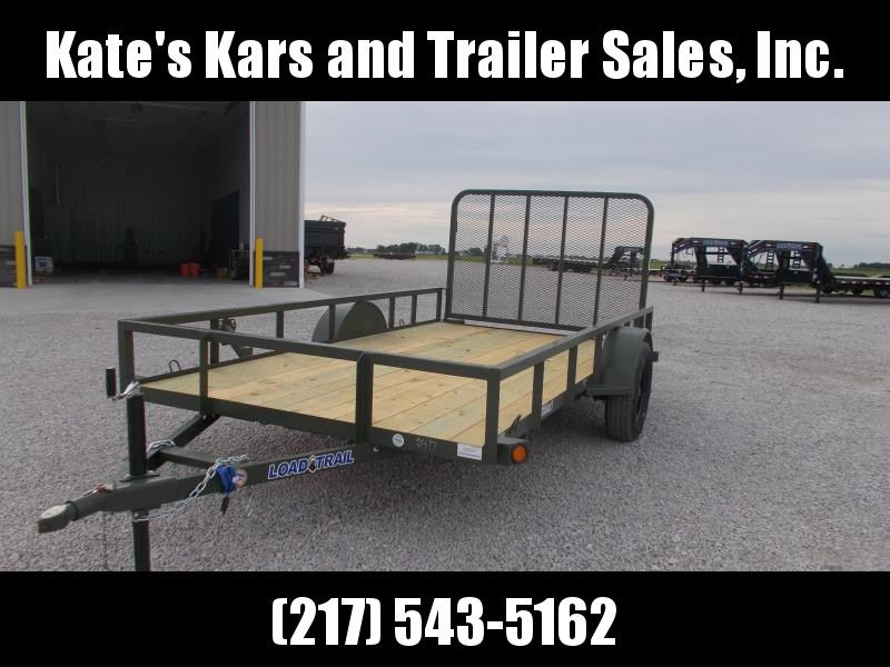 2019 Load Trail ARMY GREEN UTILITY 77X12 Utility Trailer