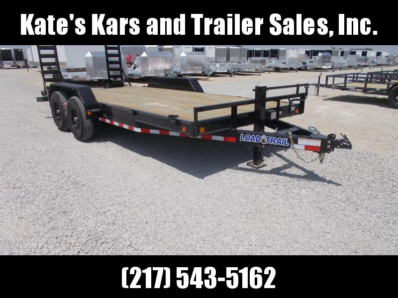 LEFT OVER !! BEST DEAL! Load Trail 83X18' Implement Equipment Flatbed Trailer