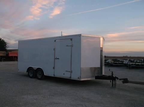2015 Used Cross Trailers 8.5X18  Enclosed Cargo Trailer