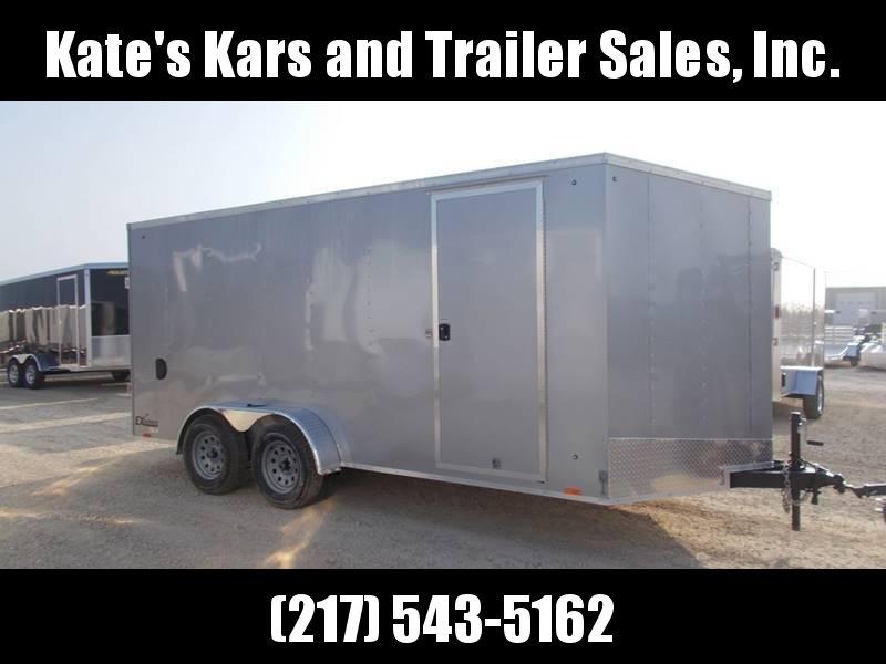 *NEW* Extra Tall 7X16' Enclosed Cargo Trailer Cargo Express