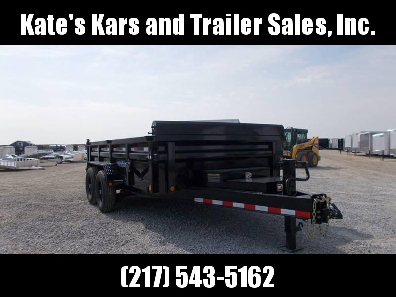 *NEW* Load Trail 14' Dump Trailer 2 Toolboxes ext tongue