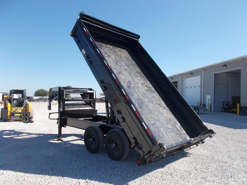 2019 Load Trail 96X14 Deck Over Gooseneck Dump Trailer