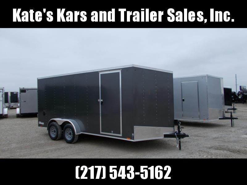 EXTRA TALL 7x16' Enclosed Cargo Trailer HUGE SELECTION