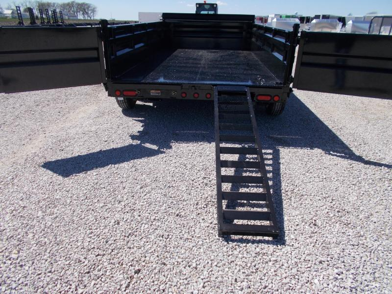 *NEW* 83X14' Load Trail Low Pro 7GA Floor Dump Trailer EXTRA TOOLBOX