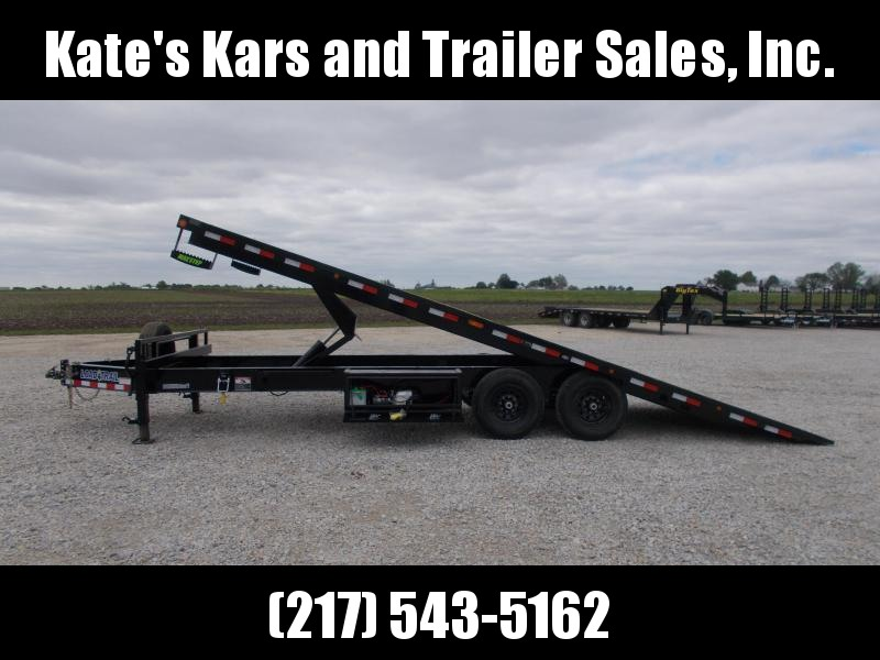 *NEW* Load Trail 102X24' Deckover Power Tilt Equipment Trailer 14K LB