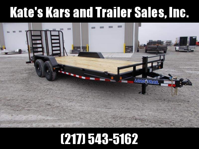*NEW* Load Trail 83x20' Equipment Trailer HD Gate