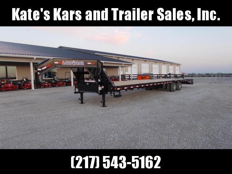 "*NEW* Load Trail 102""X40' Gooseneck Hotshot Trailer Equipment Trailer 12K axles Hydro Brakes"