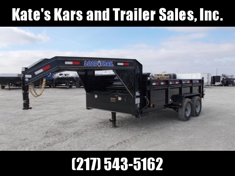 &NEW& Load Trail 14' Gooseneck Dump Trailer