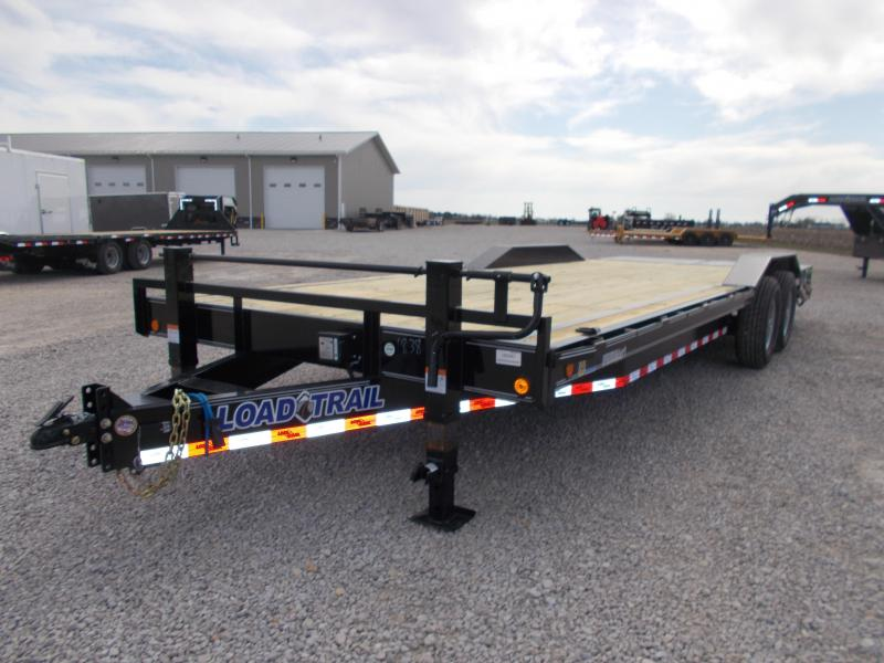 "DRIVE OVER FENDER Load Trail 102""X24' Equipment Trailer Flatbed buggy hauler"