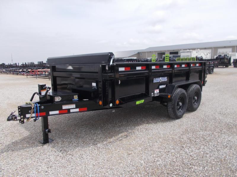 """NEW*** Load Trail 83"""" X 14' Tandem Axle Dump Dump Trailer"""