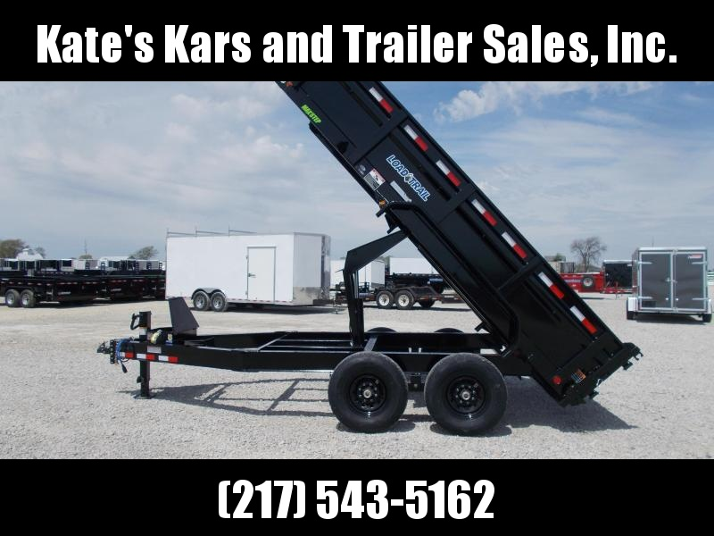 "LARGE SELECTION Load Trail 83""X14' Dump Trailer 14K LB"