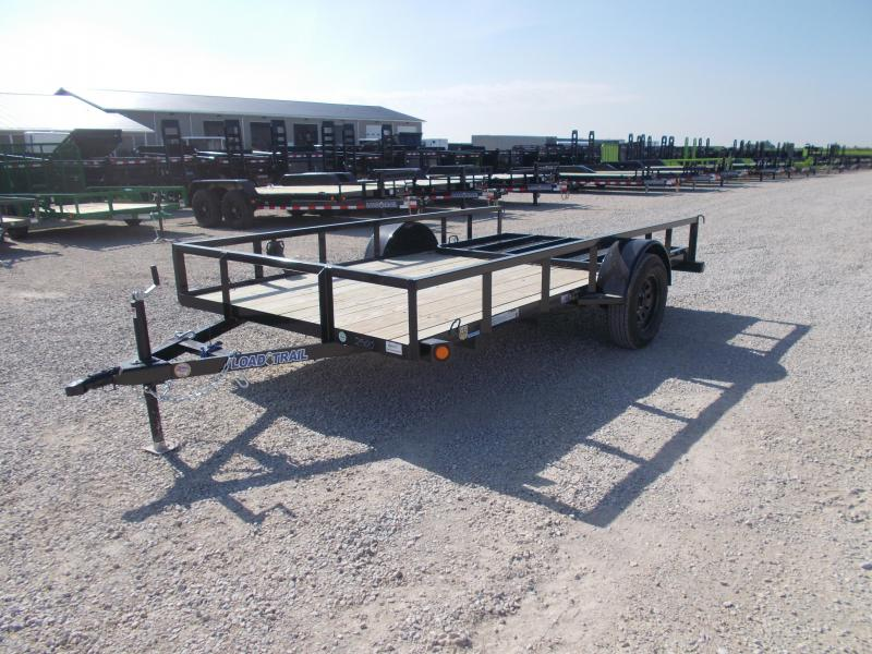 2020 Load Trail SE03 - Single Axle Landscape 77 x 12 Utility Trailer