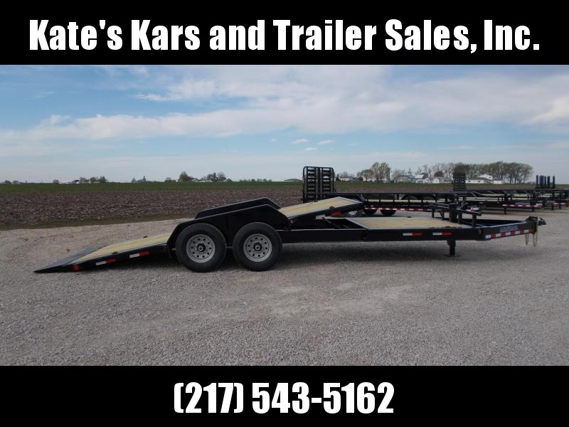 *NEW* Load Trail 83X22' Partial Tilt Bobcat Trailer Flatbed Trailer