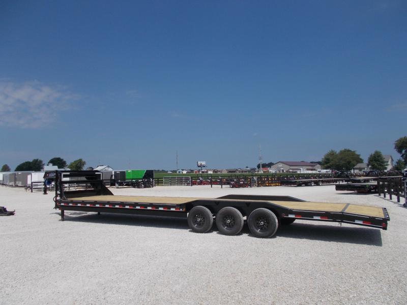 2019 Load Trail 102X36 Triple Axle Buggy Hauler Flatbed Trailer