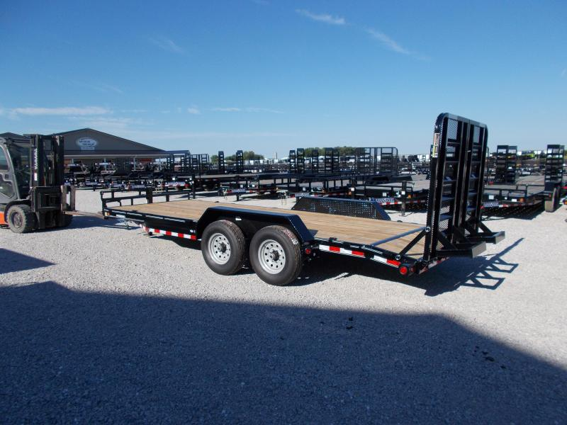 *NEW* Load Trail 20' Equipment Trailer 5' HD SPLIT GATE 14K LB
