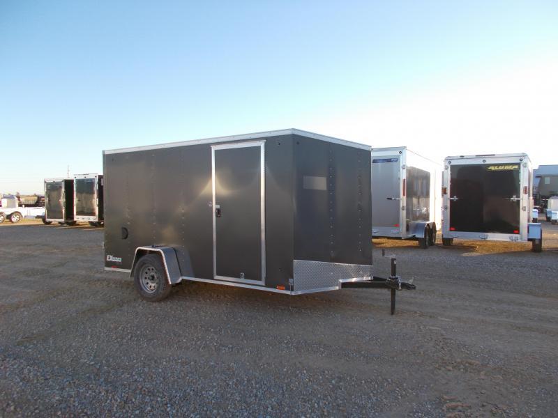 2019 Cargo Express enclosed 12' trailer with Ramp Door