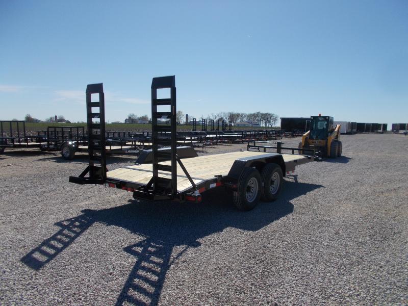 *NEW* Load Trail 14000 LB GVWR 83x18' Equipment bobcat trailer Trailer