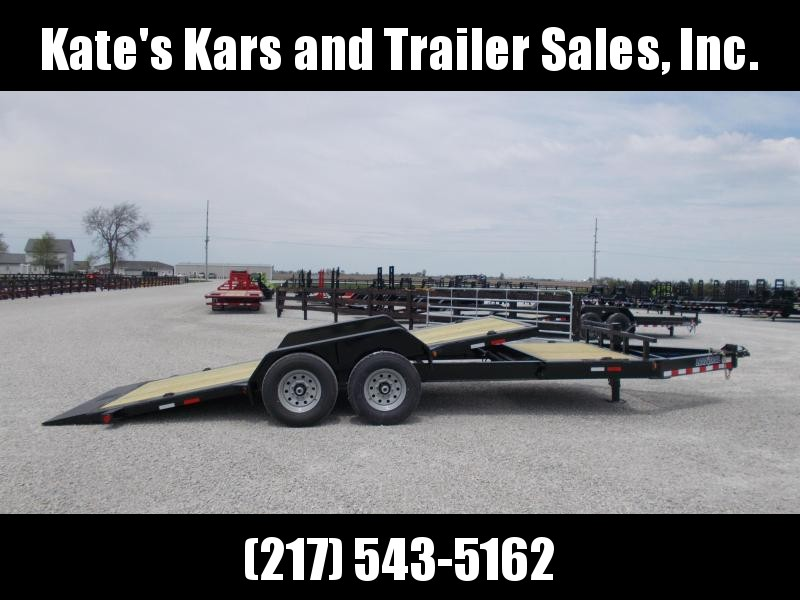 *NEW!! HEAVY DUTY I BEAM FRAME  Load Trail 83x20' Tilt Trailer 14K LB Flatbed Trailer