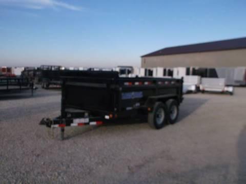2017 Load Trail 12 Ft 9990 LB Dump Trailer Black Friday