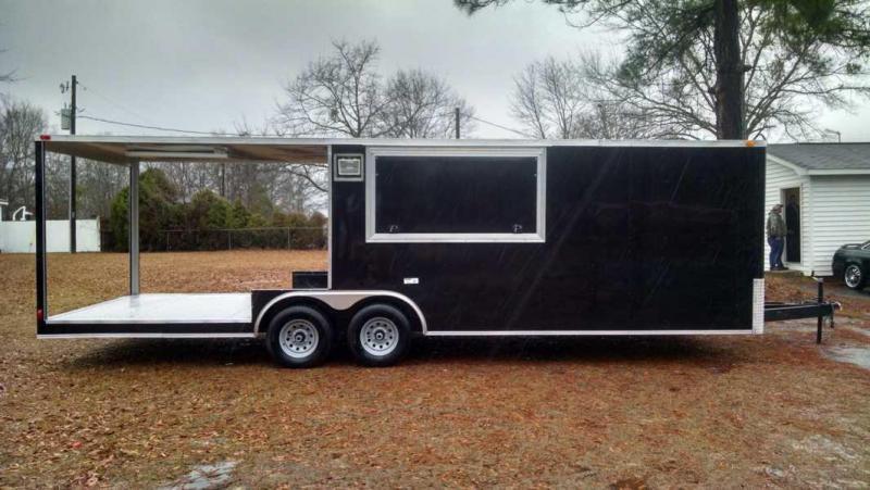 South Georgia BBQ Trailer 8.5 X 26 Vending / Concession