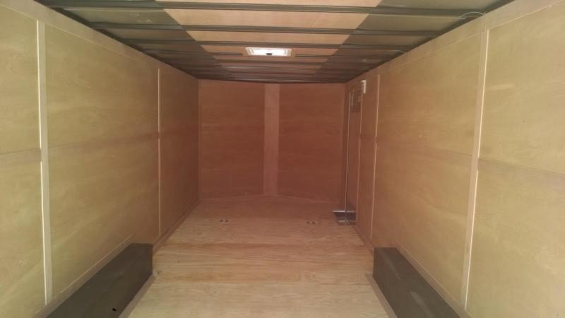 8.5 x 24 TA3 Enclosed Trailer (Harley Decals)