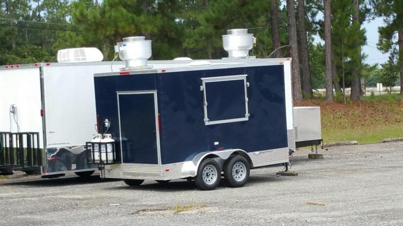 7 x 12 Concession / Vending Trailer