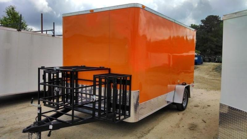 6X12 Concession / Vending Trailer South Georgia Cargo Brand