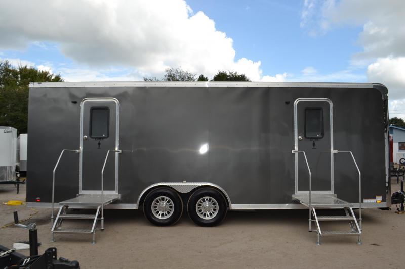 10 station restroom trailer rental right trailers for Bathroom trailer rental