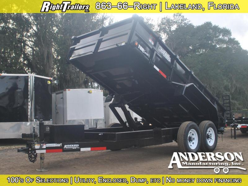 2017 Anderson dump trailer