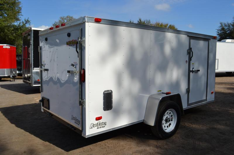 6x12 Red Hot Trailers Enclosed Trailer Will Fit In