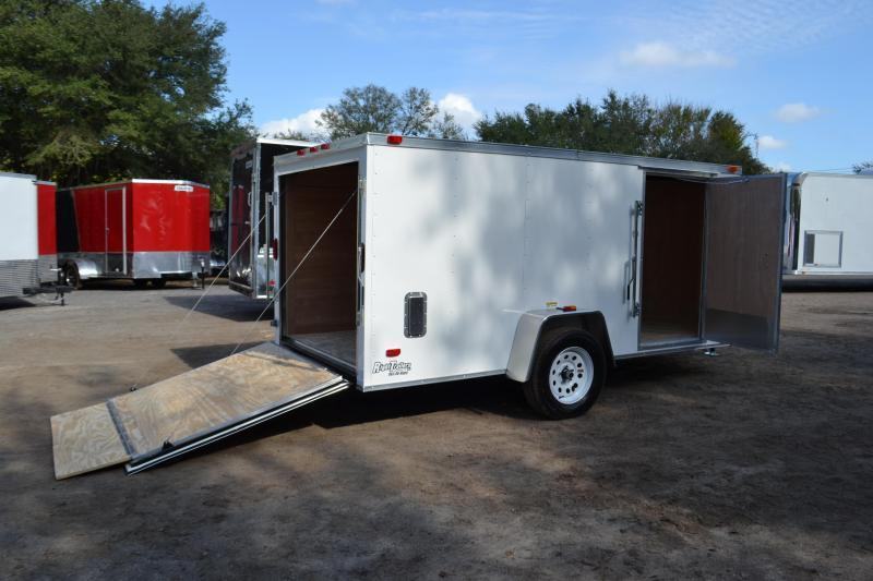 6x12 Red Hot Trailers | Enclosed Trailer [Will Fit in ...