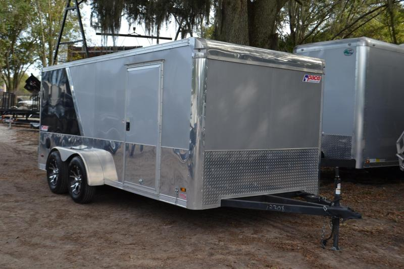 2015 7x16 Pace American | Enclosed Trailer [Motorcycle] | Right Trailers | New And Used Cargo ...