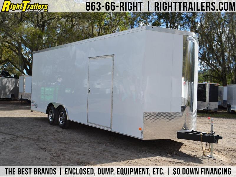 8.5x24 Haulmark Transport   Enclosed Trailer