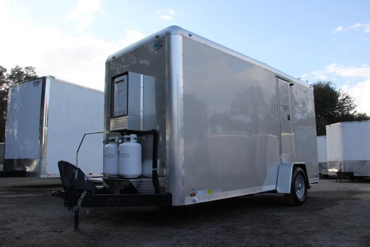 Three station restroom and shower trailer rental right for Bathroom trailer rental