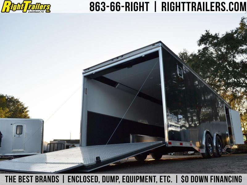 8.5x28 Haulmark Edge Pro   Racing Trailer