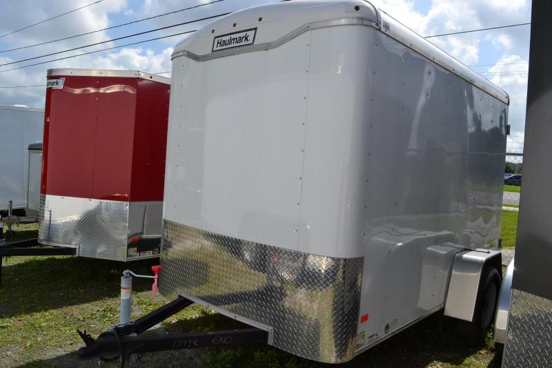 6x10 Haulmark Transport   Enclosed Trailer [Flat Front]
