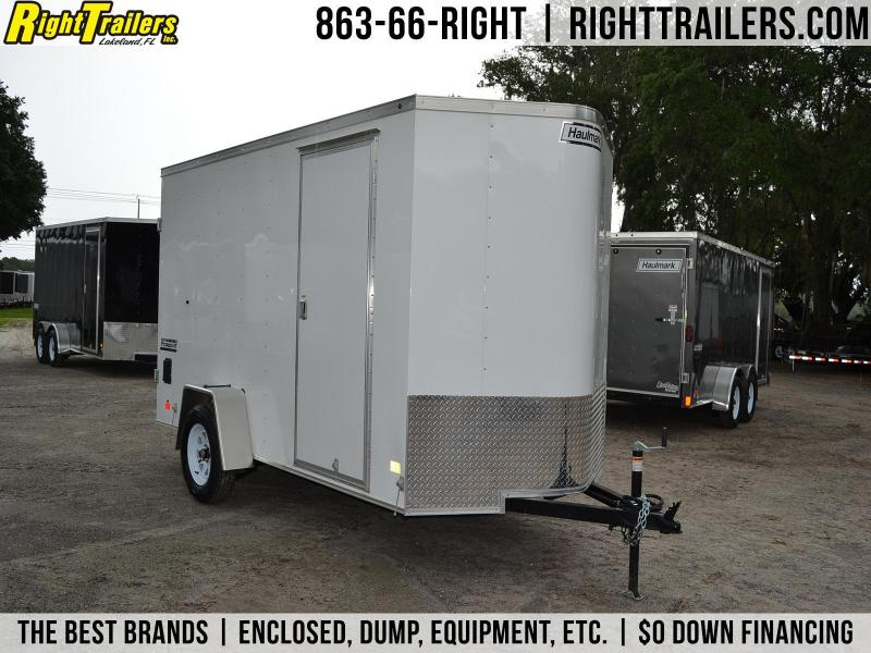 6x12 Haulmark   Enclosed Trailer [Barn Doors]