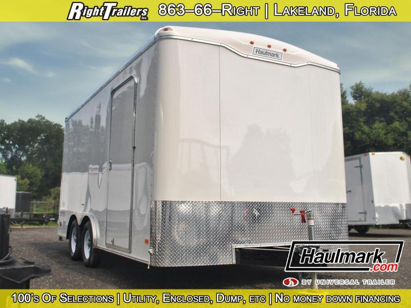 8.5x16 Haulmark Grizzly | Enclosed Trailer