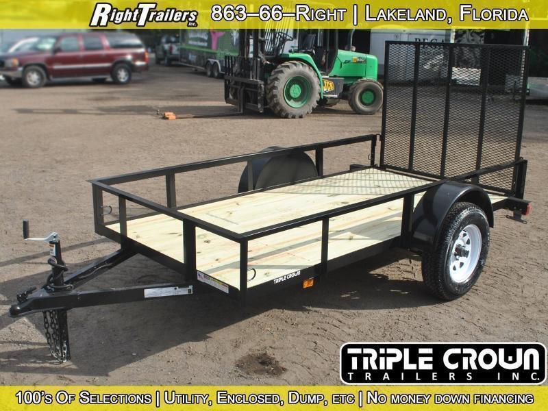 2017 Triple Crown utility trailer