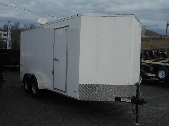 2018 Bravo Trailers Hero 7x16 V-Nose 6 Extra Height Enclosed Cargo Trailer
