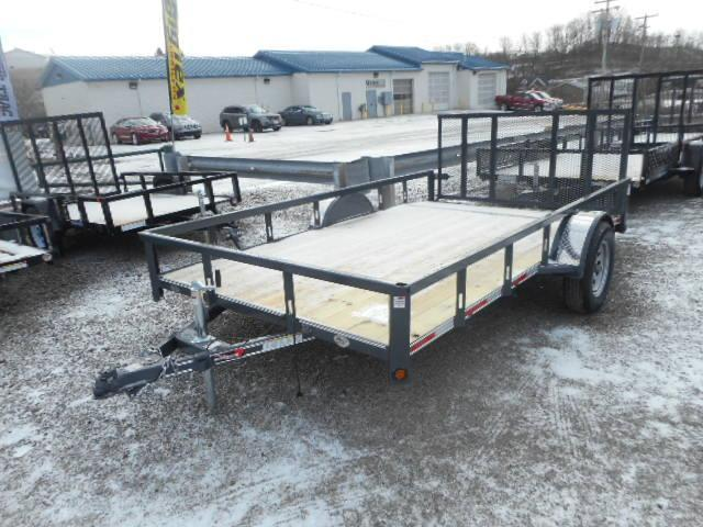 2018 Heartland Single Axle Utility Trailer 6 1/2x12 with Dovetail