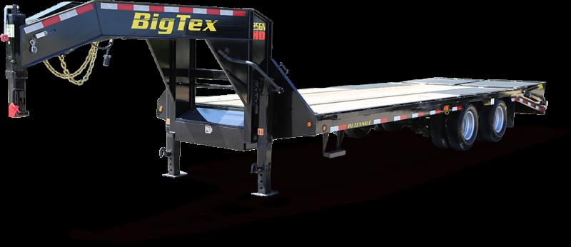2018 Big Tex Trailers Gooseneck 28+5 with Mega Ramps