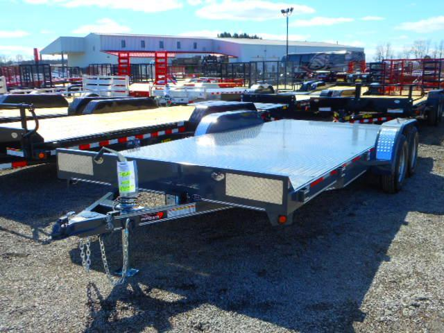 2018 Heartland 18 Steel Deck Car Hauler with Dovetail Car / Racing Trailer