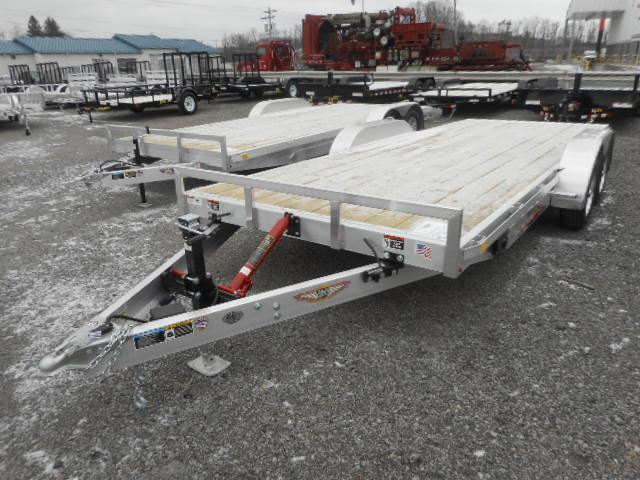 2018 H and H Trailer 82x20 MXA Manual Speed Loader Car / Racing Trailer