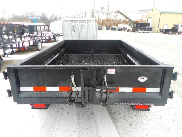 2018 Sure-Trac 62in x 8 LProfile Dump 5K Single Ram